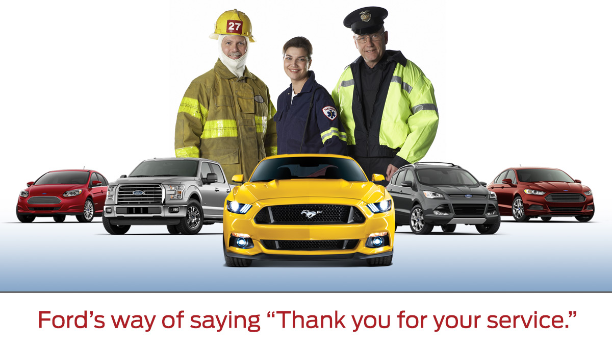 Ford First Responder Appreciation Program